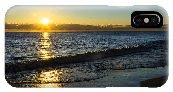 Sunrise Lake Michigan September 14th 2013 040 IPhone Case