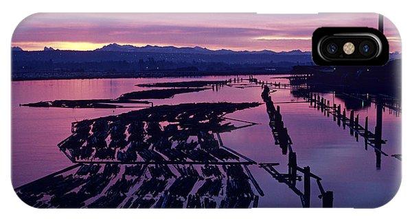 Sunrise Lumber Mill IPhone Case
