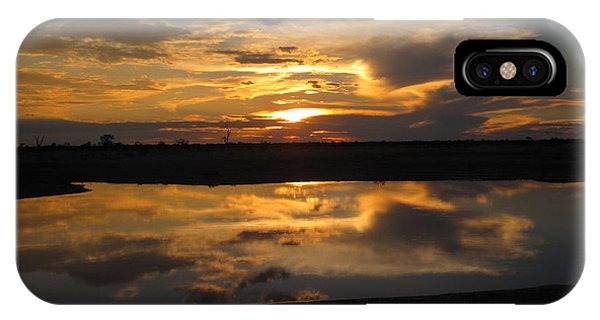 Sunrise Over Savuti Park IPhone Case