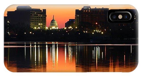 Sunrise Over The Capitol-2 IPhone Case