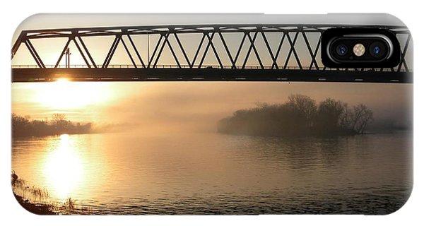 Sunrise Over The Ohio IPhone Case