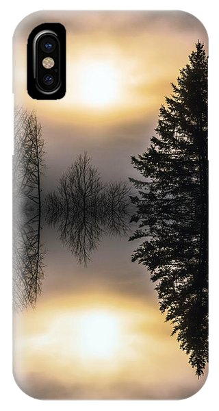 Sunrise-sundown IPhone Case