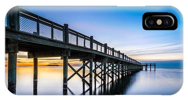 Sunrise Under The Boardwalk IPhone Case