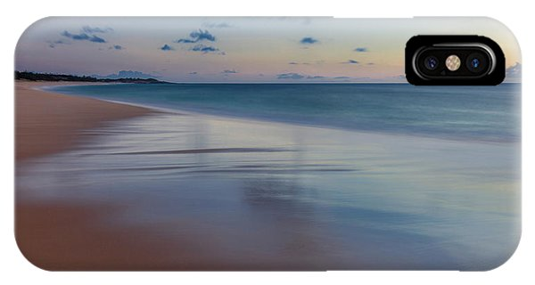 iPhone Case - Sunset Above Papohaku Beach On Molokais by Richard A Cooke Iii.