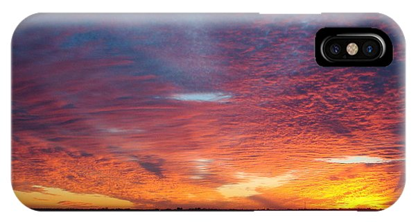Sunset At Cafe Coconut Cove 5 IPhone Case