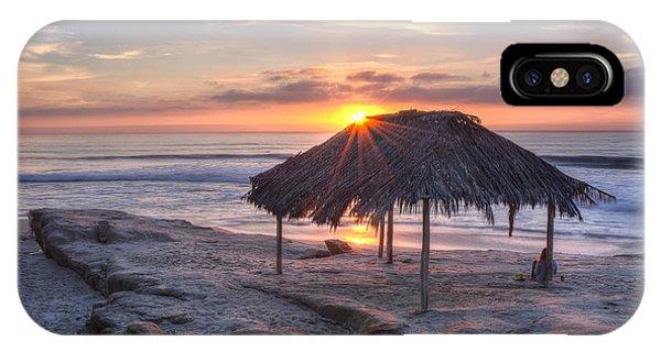 Sunset At Windansea Beach IPhone Case
