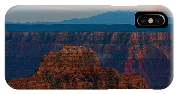Sunset Grand Canyon Cape Royal San Franciso Peaks IPhone Case