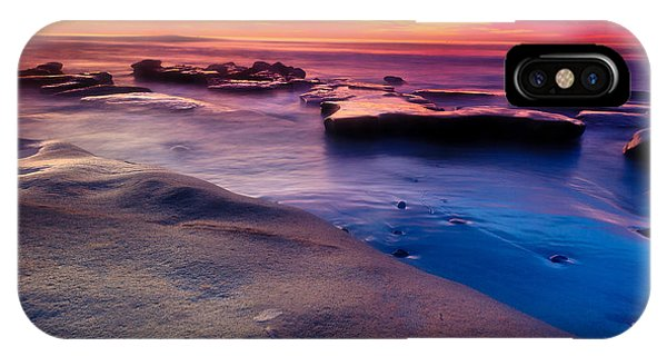 Sunset In La Jolla  IPhone Case