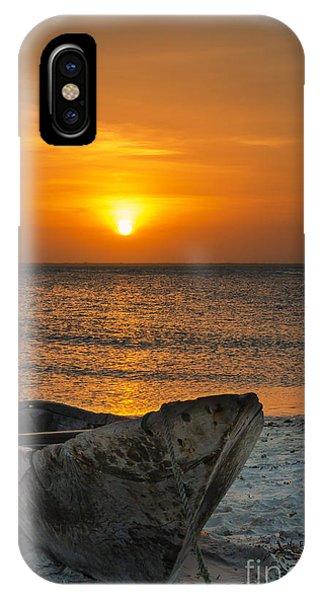 Sunset In Zanzibar - Kendwa Beach Phone Case by Pier Giorgio Mariani