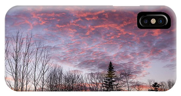 Sunset Jonesport Maine  IPhone Case