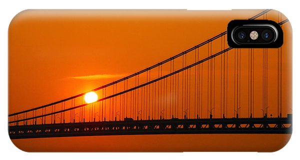 Verrazano Sunset IPhone Case