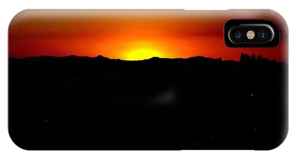 Sunset Over Arizona Phone Case by John Potts