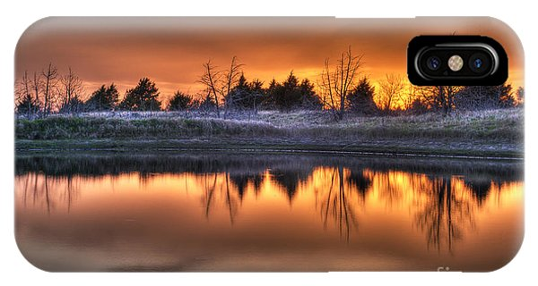 Sunset Over Bryzn IPhone Case