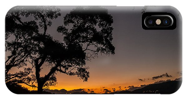 Sunset Over Copan IPhone Case