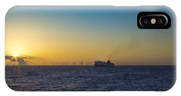 Sunset Over The Irish Sea Phone Case by Paul Madden