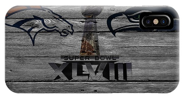New York Mets iPhone Case - Super Bowl Xlviii by Joe Hamilton