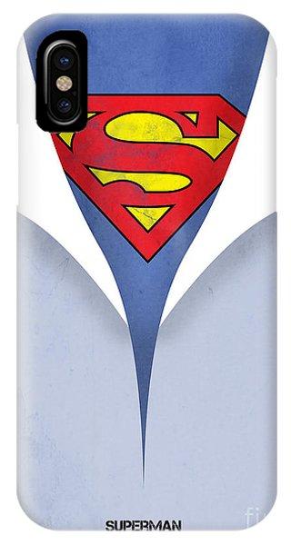 Vector iPhone Case - Superman 9 by Mark Ashkenazi