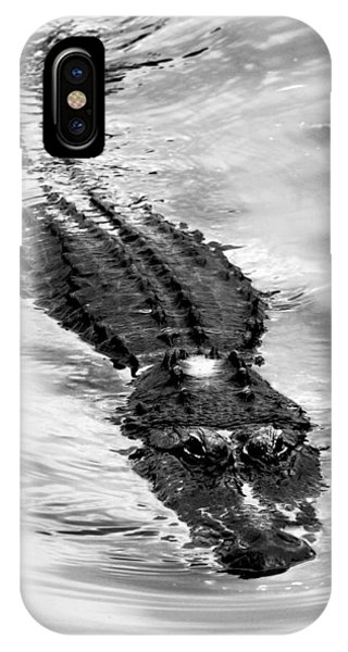 Swimming Gator IPhone Case