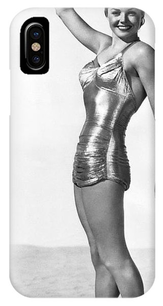 Swimming Star Esther Williams IPhone Case