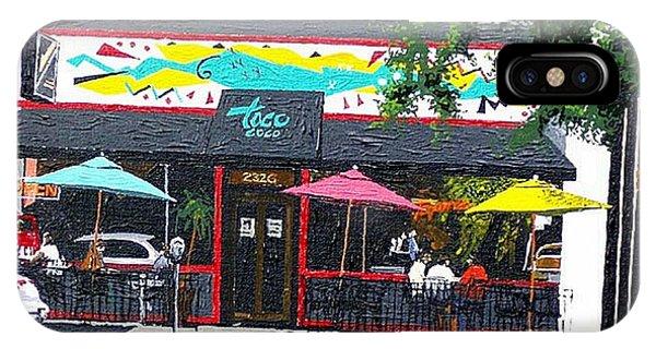 Taco Loco Phone Case by Paul Guyer