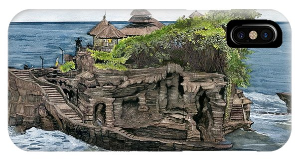 Tanah Lot Temple Bali Indonesia IPhone Case