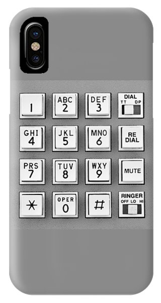 Telephone Touch Tone Keypad IPhone Case