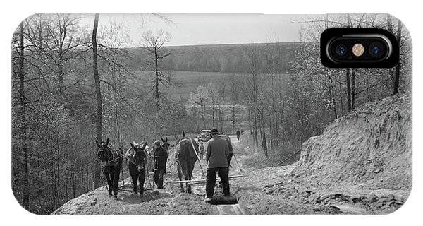 Tennessee Roads, 1936 Phone Case by Granger