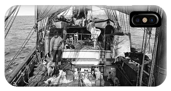 Terra Nova Antarctic Dogs IPhone Case