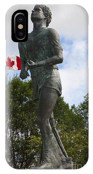 Jason Terry iPhone Case - Terry Fox Monument by Jason O Watson