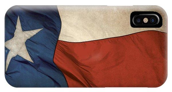 Rustic Texas Flag  IPhone Case
