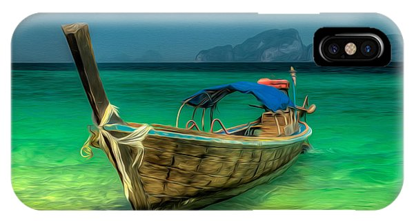 Thai Longboat IPhone Case
