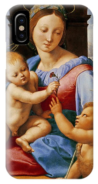 Raphael iPhone Case - The Aldobrandini Madonna Or The Garvagh Madonna  by Raphael