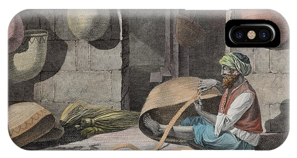The Basket Maker, From Volume II Arts IPhone Case