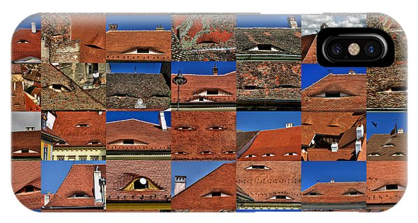 The City's Eyes Sibiu Hermannstadt Romania IPhone Case