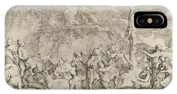 Rosa iPhone Case - The Crucifixion Of Polycrates by Salvator Rosa