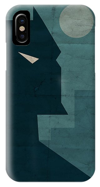Hero iPhone Case - The Dark Knight by Michael Myers