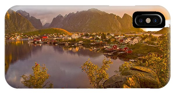 The Day Begins In Reine IPhone Case