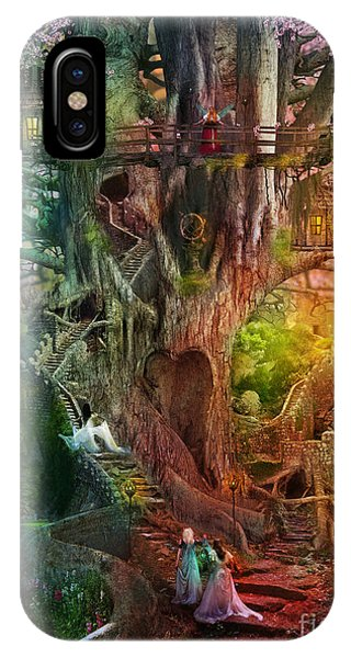 The Dreaming Tree IPhone Case