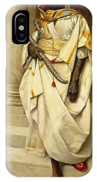 Proud iPhone Case - The Emir by Ludwig Deutsch