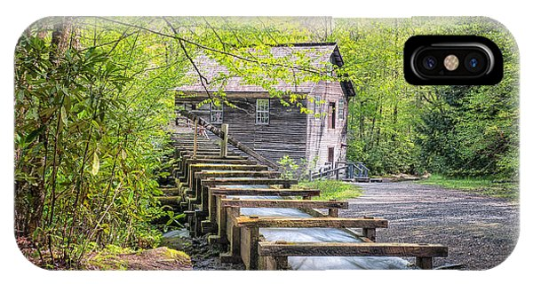 The Flume At Mingus Mill IPhone Case