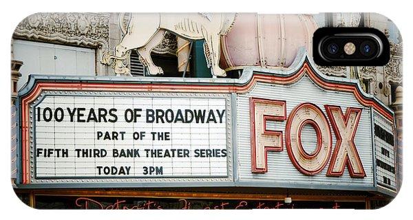 The Fox Theatre IPhone Case