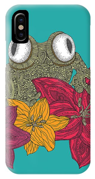Frogs iPhone Case - The Frog by Valentina Ramos