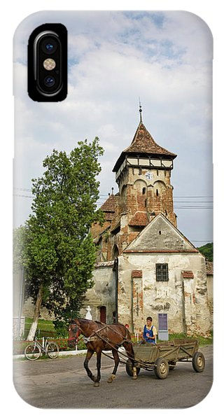 Lutheran iPhone Case - The German Fortified Church Of Valea by Martin Zwick