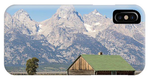 The Grand Teton IPhone Case
