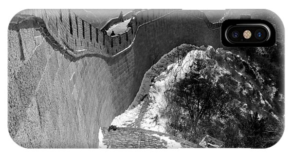 Asia iPhone Case - The Great Wall Of China by Sebastian Musial