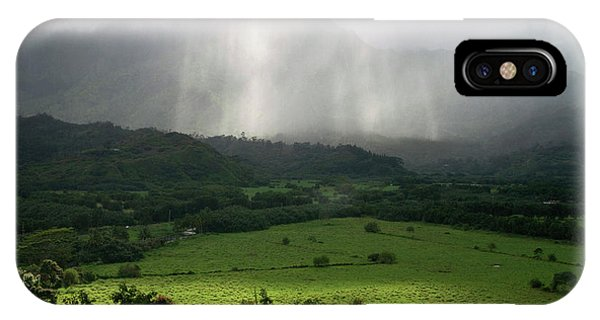 Archipelago iPhone Case - The Green Valley Surrounding Hanalei by David R. Frazier