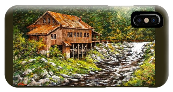 iPhone Case - The Grist Mill by Jim Gola