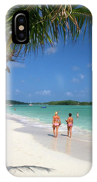 The Gulf Of Thailand At Chaweng Beach IPhone Case