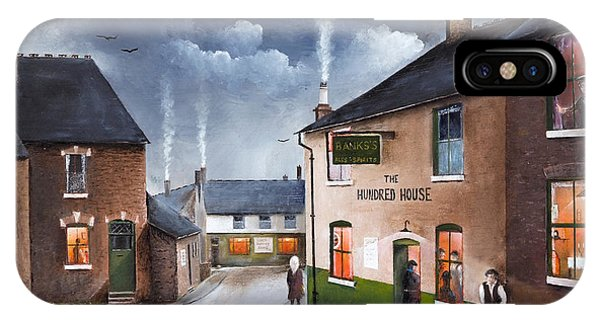 The Hundred House - Lye IPhone Case