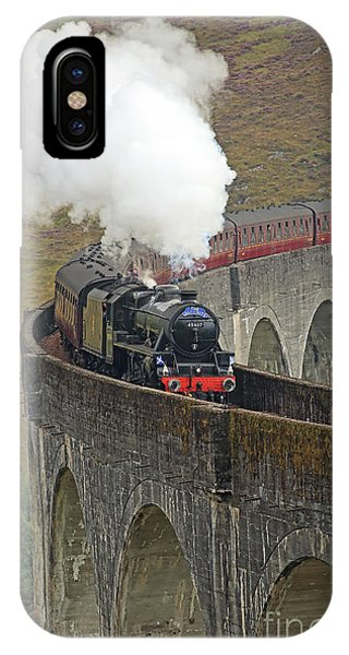 The Jacobite Steam Train IPhone Case